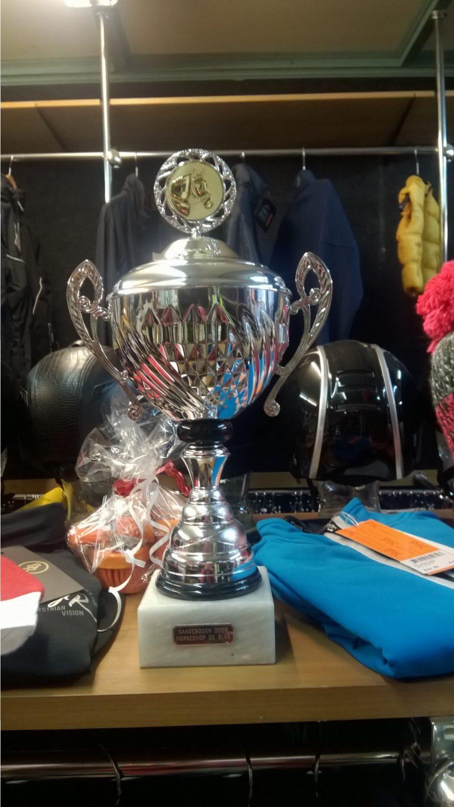Ida Hoving en Esmee Kramp winnen de Bles-competitie